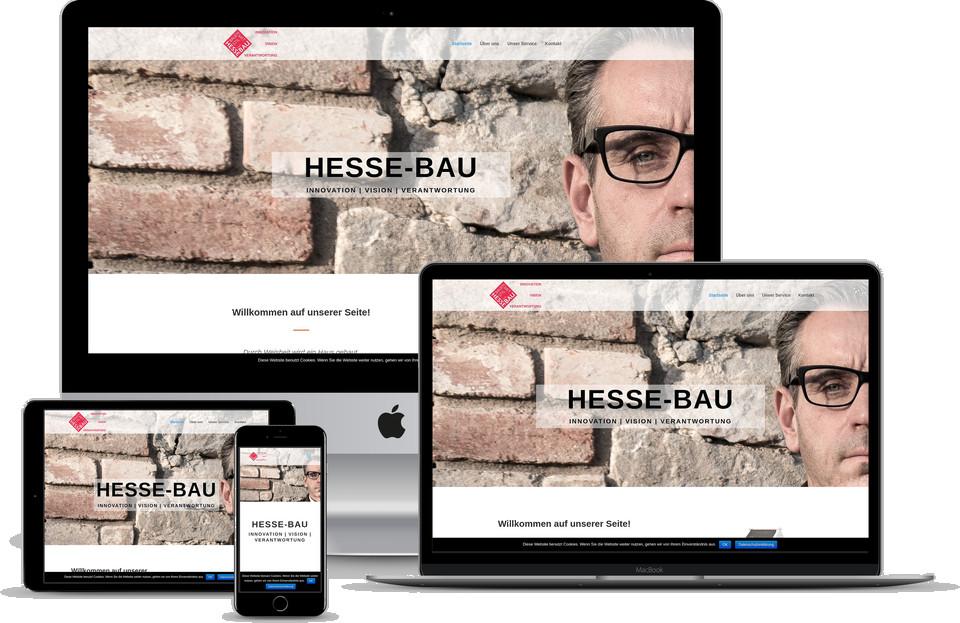 Webdesign Projekt Bauunternehmen