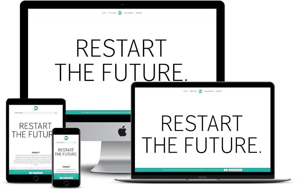 Webdesign Rakkit Startup Wordpress Template