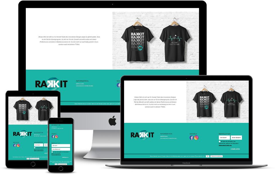 Webdesign Wordpress Template Startup Plastikfrei Rakkit