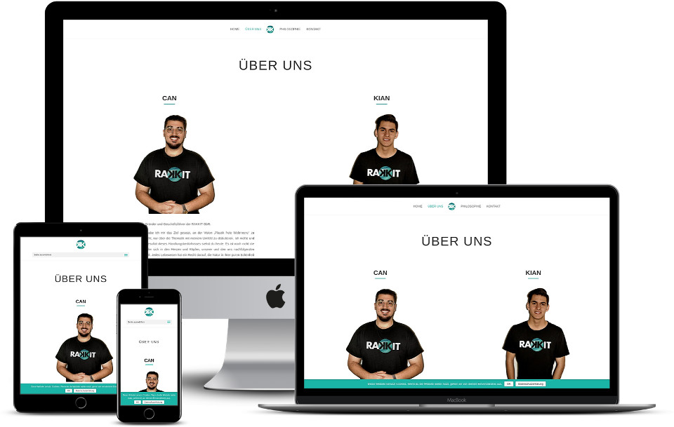 Webdesign Wordpress Template Startup Rakkit