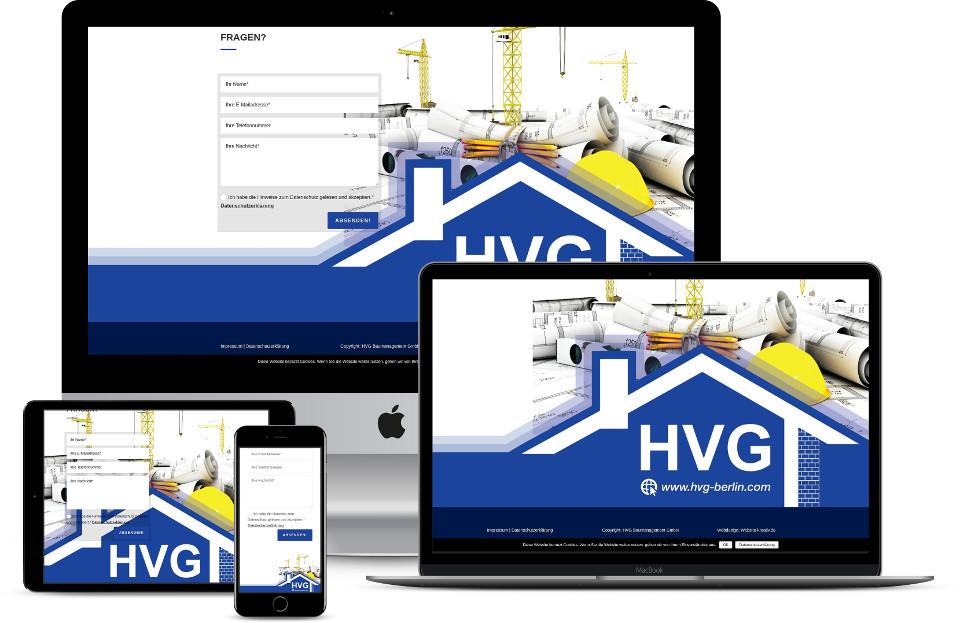 Webdesigner Firmenwebseite Template Webdesign