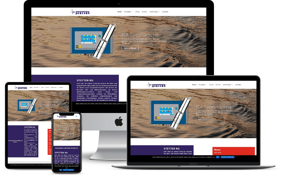 Website KMU STETTER KG