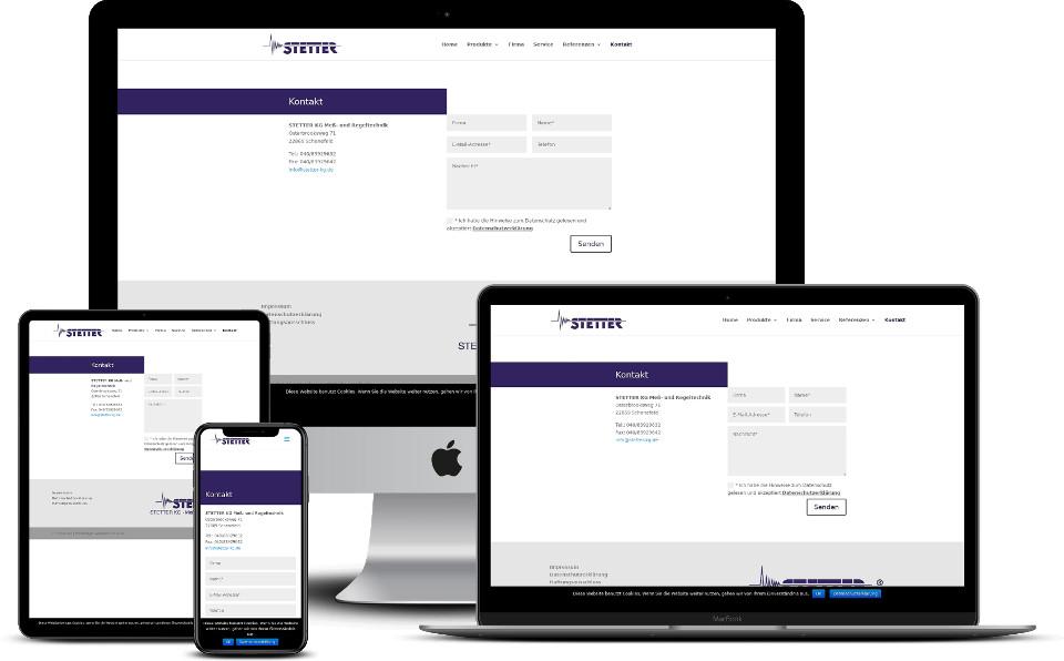 Website für KMU Kleine und mittlere Unternehmen Webdesign