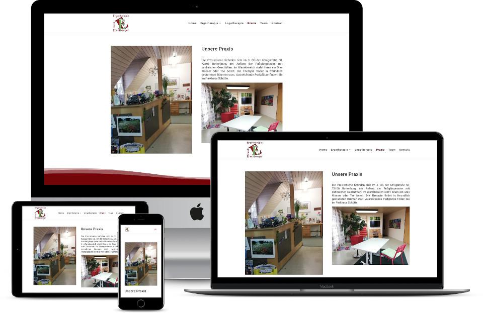 Webdesign Ergotherapie