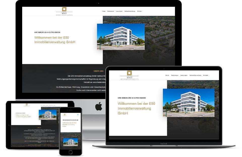 Webdesign Immobilienverwaltung