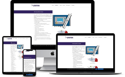 Produktlaunch Webdesign Website