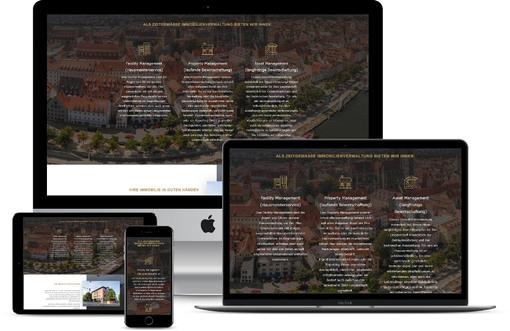webdesgin immobilien verwaltung