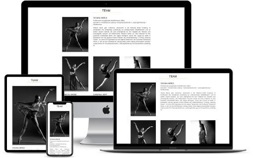 Webdesign Tanzschule Website Design Wordpress