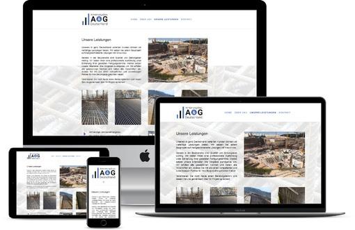 Webdesign Website erstellen lassen Bewehrungsbau