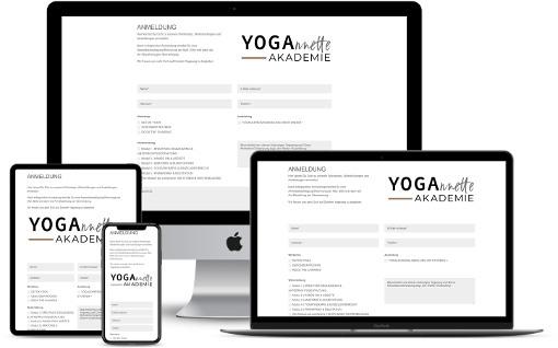 Webdesign Yogastudio Yogalehrer Yoga