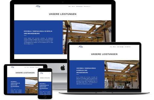 Webdesign klar strukturiert corporate design