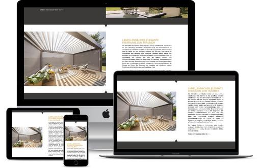 Website Fensterbau Handwerker Webdesign